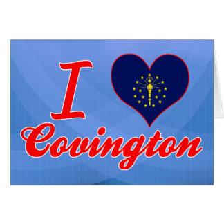 Amo Covington, Indiana Tarjetón