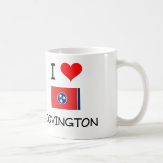 Amo Covington Tennessee Taza Básica Blanca