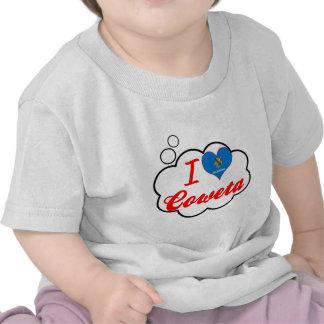 Amo Coweta, Oklahoma Camisetas