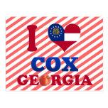 Amo $cox, Georgia Postal