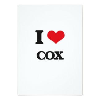 Amo $cox invitación 12,7 x 17,8 cm
