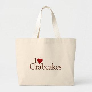 Amo Crabcakes Bolsa