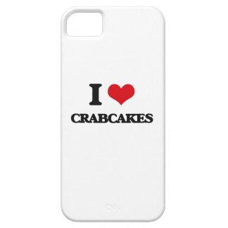 Amo Crabcakes iPhone 5 Carcasas