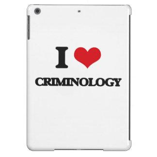Amo criminología funda para iPad air