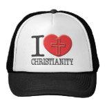 Amo cristianismo gorros