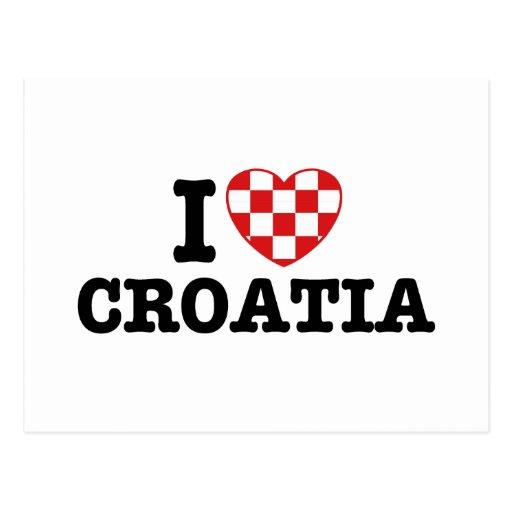 Amo Croacia Postales