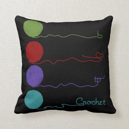 Amo Crochet la almohada