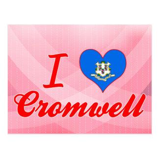 Amo Cromwell, Connecticut Tarjeta Postal