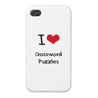 Amo crucigramas iPhone 4/4S carcasa