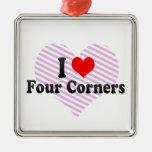 Amo cuatro esquinas, Estados Unidos Adorno Para Reyes