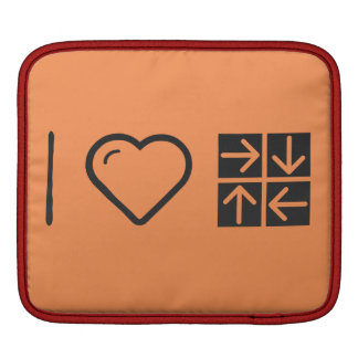 Amo cuatro flechas funda para iPads