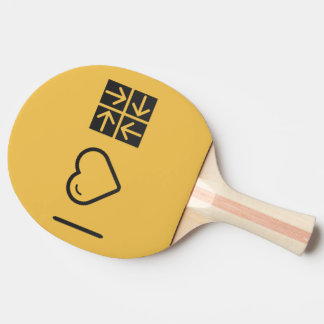 Amo cuatro flechas pala de tenis de mesa