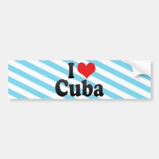 Amo Cuba Pegatina Para Auto