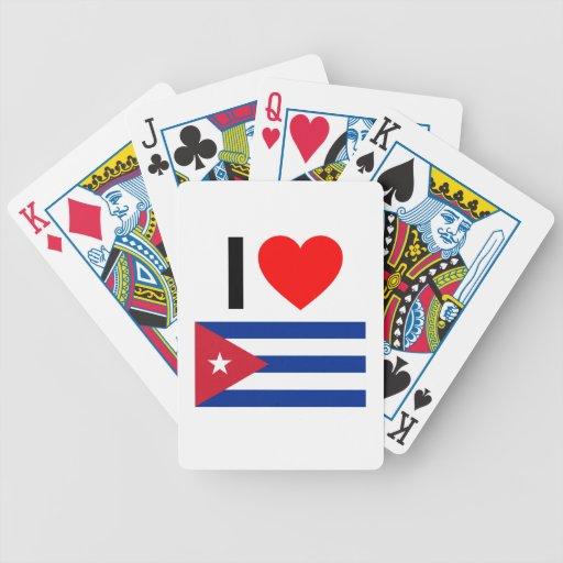 amo Cuba Cartas De Juego
