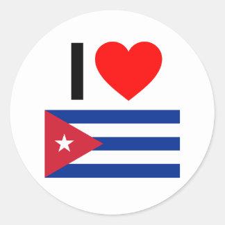 amo Cuba Etiqueta