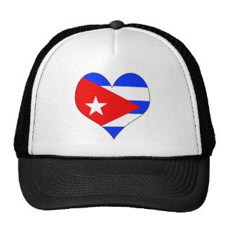 Amo Cuba Gorro De Camionero