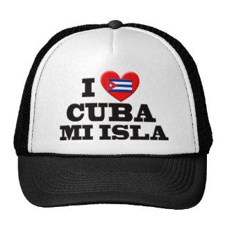 Amo Cuba Gorros Bordados