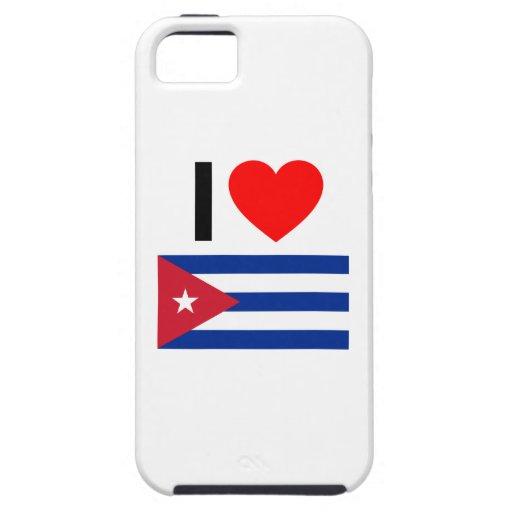 amo Cuba iPhone 5 Carcasa