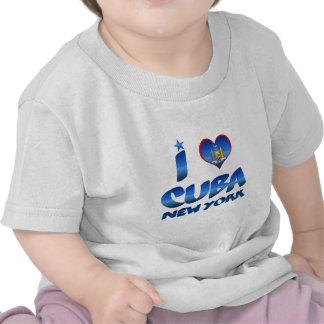 Amo Cuba Nueva York Camisetas