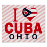 Amo Cuba, Ohio Poster