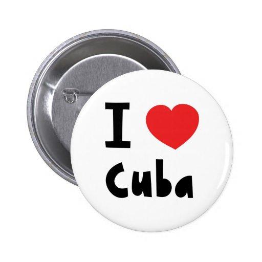 Amo Cuba Pins