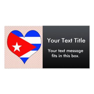 Amo Cuba Plantilla Para Tarjeta De Foto