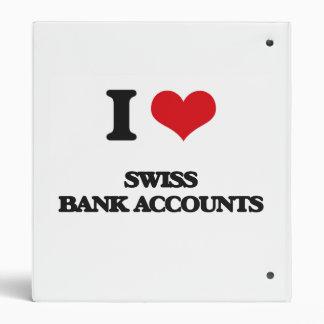 """Amo cuentas bancarias suizas carpeta 1"""""""