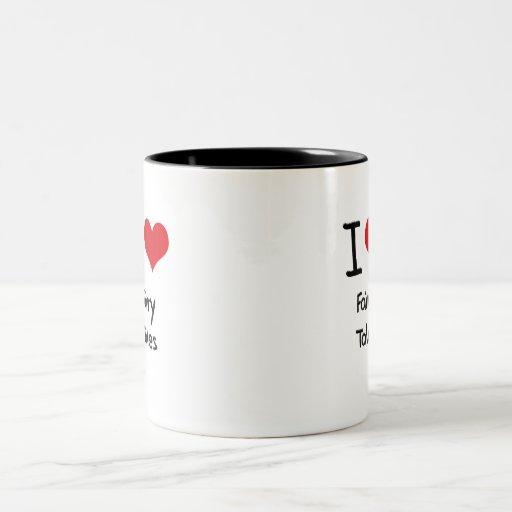 Amo cuentos de hadas taza