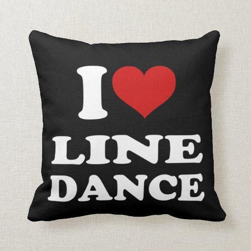 Amo cuerpo de baile cojín