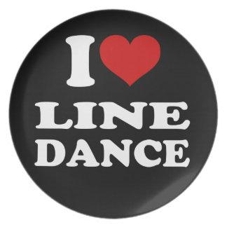 Amo cuerpo de baile platos para fiestas