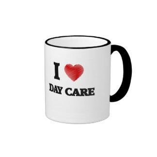Amo cuidado de día taza de dos colores