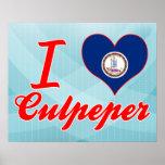 Amo Culpeper, Virginia Póster