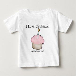 Amo cumpleaños remeras
