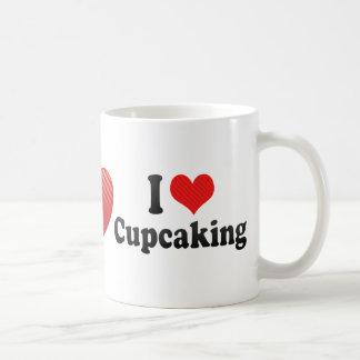 Amo Cupcaking Taza