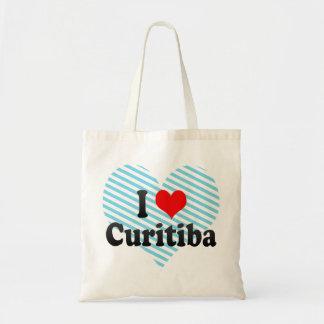 Amo Curitiba, el Brasil Bolsas De Mano