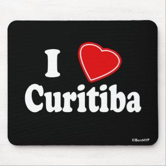 Amo Curitiba Alfombrillas De Raton