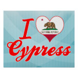 Amo Cypress, California Posters