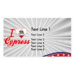 Amo Cypress, California Plantillas De Tarjeta De Negocio