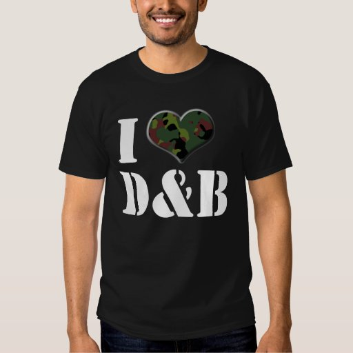 Amo D&B Remera