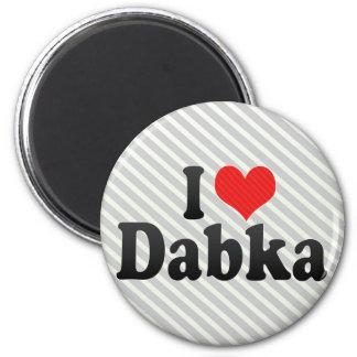 Amo Dabka Imán De Frigorífico