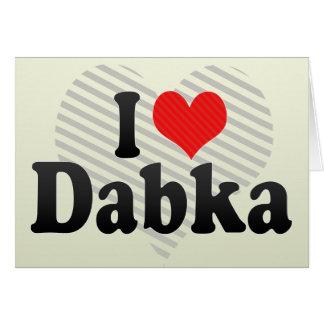Amo Dabka Tarjeta