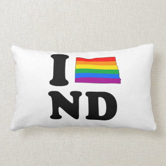 AMO DAKOTA DEL NORTE GAY ALMOHADA