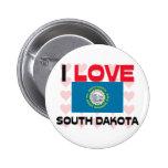 Amo Dakota del Sur Pins