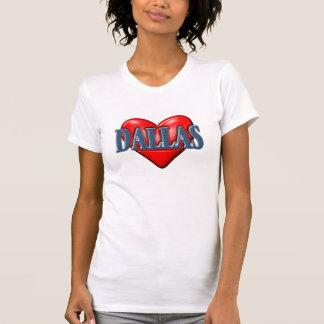 Amo Dallas Tejas Camiseta