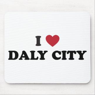Amo Daly City California Alfombrilla De Raton