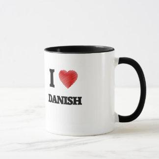 Amo danés taza