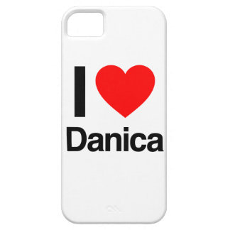 amo danica iPhone 5 fundas