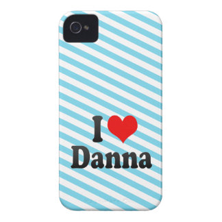 Amo Danna iPhone 4 Funda