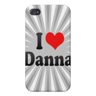 Amo Danna iPhone 4 Protectores