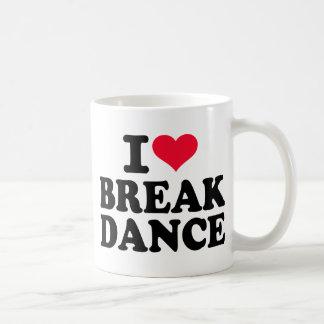 Amo danza de rotura tazas
